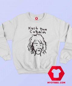 Kurt Cobain Sketch Vintage Unisex Sweatshirt