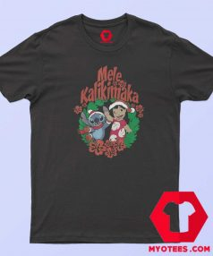 Lilo Stitch Christmas Mele Kalikimaka T Shirt