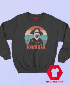 Little Girl Kamala Harris Retro Vintage Sweatshirt