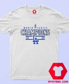 Los Angeles Dodgers 2020 World Series T Shirt