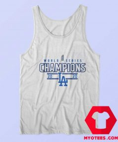 Los Angeles Dodgers 2020 World Series Tank Top