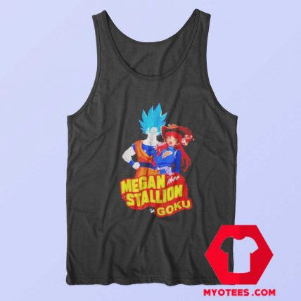 Megan Thee Stallion Super Goku Unisex Tank Top