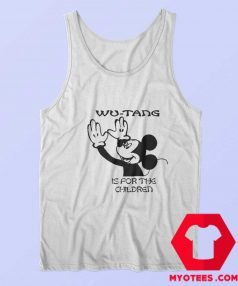 Mickey Funny Wu Tang Is For The Children Tank Top