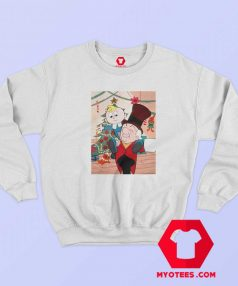 Mr Mago Tiny Christmas Cartoon Sweatshirt