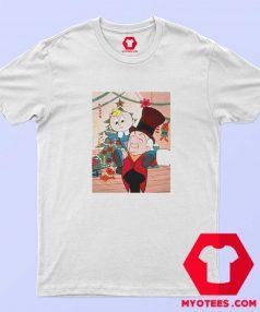 Mr Mago Tiny Christmas Cartoon T Shirt