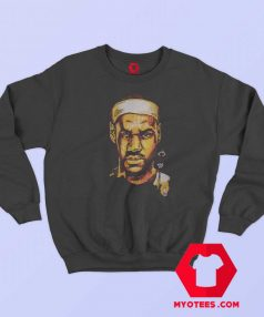 NBA Miami Head James Lebron Graphic Sweatshirt