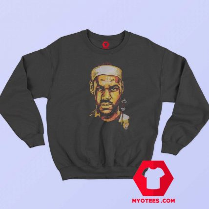 NBA Miami Head James Lebron Graphic Sweatshirt