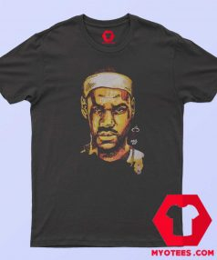 NBA Miami Head James Lebron Graphic T Shirt