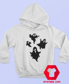 New Off White Cute Ghost Unisex Hoodie