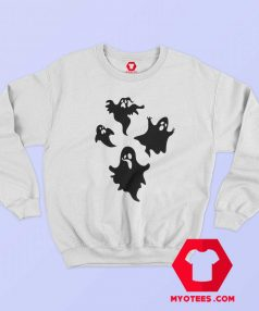New Off White Cute Ghost Unisex Sweatshirt
