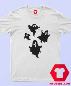 New Off White Cute Ghost Unisex T Shirt