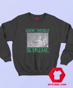 New Supreme Know Thyself Unisex Sweatshirt