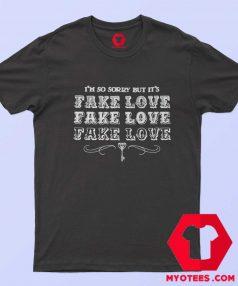 Official BTS Fake Love Album Unisex T Shirt