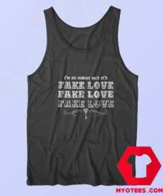 Official BTS Fake Love Album Unisex Tank Top