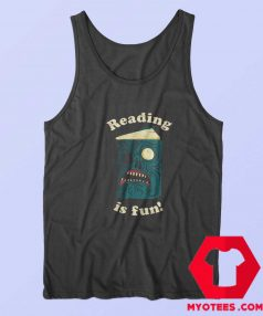 Official Reading Is Fun Army of Darkness Tank Top