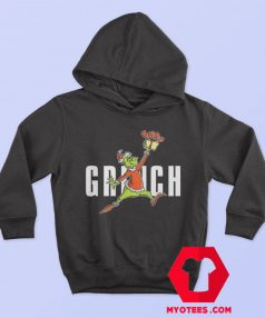 Parody Jumpman How The Grinch Stole Christmas Hoodie