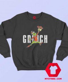 Parody Jumpman How The Grinch Stole Christmas Sweatshirt
