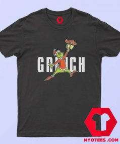 Parody Jumpman How The Grinch Stole Christmas Tshirt