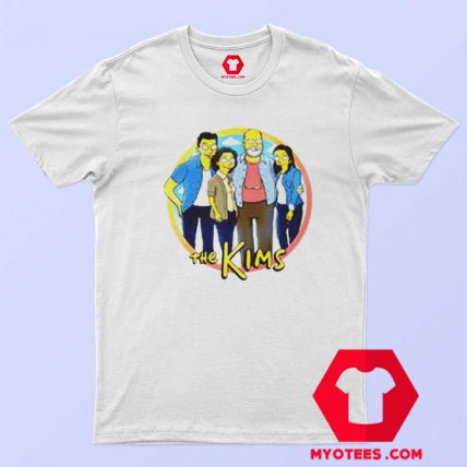 Parody Simpsons Kim Family Funny T Shirt