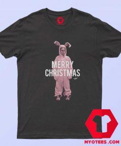 Pink Bunny Christmas Story Unisex T Shirt