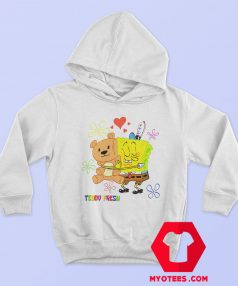 Teddy Fresh X SpongeBob Fun Action Hoodie