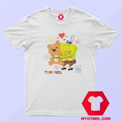 Teddy Fresh X SpongeBob Fun Action T Shirt