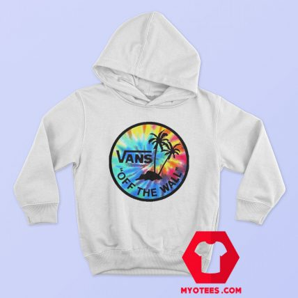 Tie Dye Vans Off The Walk Unisex Hoodie