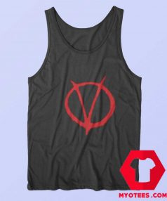 V For Vendetta Movie Symbol Unisex Tank Top