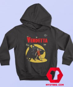 V For Vendetta Warrior Gotham Parody Hoodie