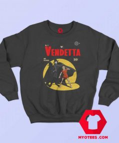 V For Vendetta Warrior Gotham Parody Sweatshirt