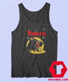 V For Vendetta Warrior Gotham Parody Tank Top