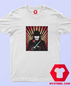 V for Vendetta Movie Guy Fawkes T Shirt