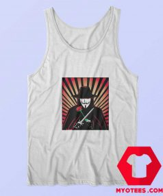 V for Vendetta Movie Guy Fawkes Tank Top