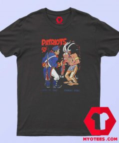 Vintage Boston Patriots 1963 Christmas T Shirt