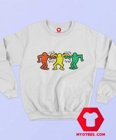 Vintage Keith Haring Friends Sweatshirt