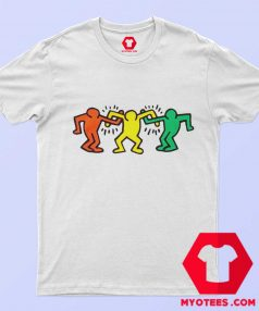 Vintage Keith Haring Friends T Shirt