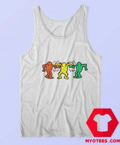 Vintage Keith Haring Friends Tank Top
