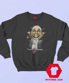 Vintage NBA LeBron James Caricature Sweatshirt