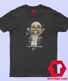 Vintage NBA LeBron James Caricature T Shirt