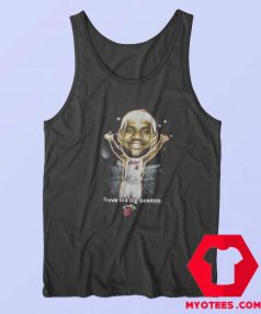 Vintage NBA LeBron James Caricature Tank Top
