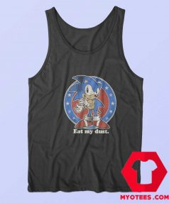 Vintage Sonic The Hedgehod My Dust Tank Top
