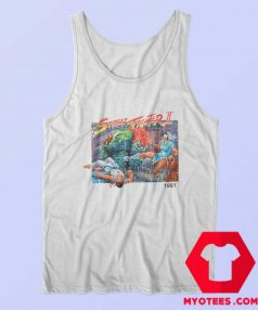 Vintage Street Fighter II 1991 Tank Top