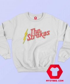 Vintage The Strokes Rasta Graphic Sweatshirt