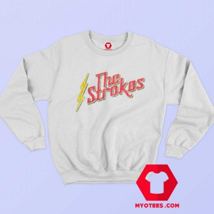 Vintage The Strokes Rasta Graphic Sweatshirt