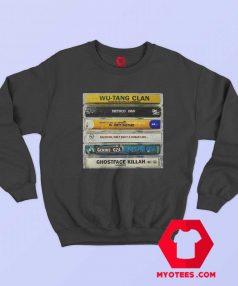 Wu Tang Clan Hip Hop Cassette Tape Sweatshirt
