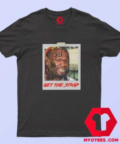 50 Cent Mashup Get The Strap Unisex T Shirt