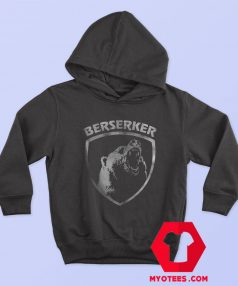 Berserker Bear Warriors Norse Mythology Hoodie