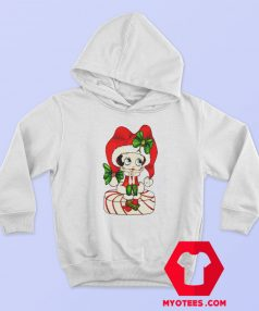 Betty Boop Cute action Christmas Unisex Hoodie 1