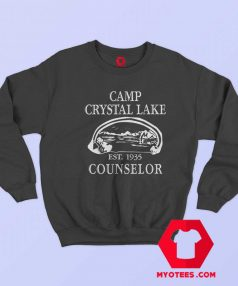 Camp Crystal Lake Camping Vintage Sweatshirt