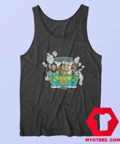 Cheech And Chong Scooby Doo Mashup Tank Top